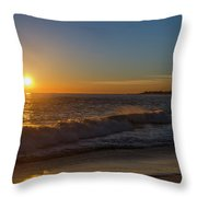 Sunset And The Sea - Cape May New Jersey Throw Pillow