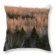 Sunset April 19 Throw Pillow
