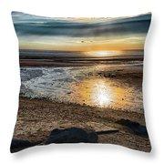Sunset At Brewster Flats Throw Pillow