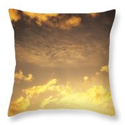 Sunset At Chinamans Hat Throw Pillow