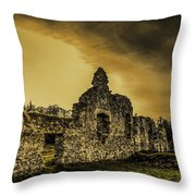 Sunset At Grace Dieu Throw Pillow