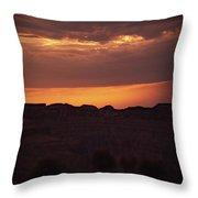 Sunset At Grand Canyon Throw Pillow