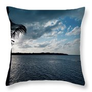 Sunset At Grassy Key Throw Pillow