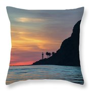 Sunset At Point Loma Throw Pillow