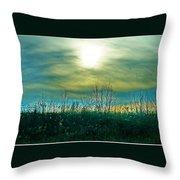 Sunset At Rapp Park Throw Pillow