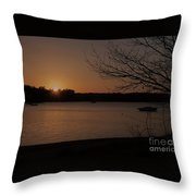 Sunset At Shell Point Throw Pillow