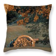 Sunset At Shiloh Throw Pillow