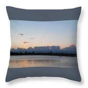 Sunset At The Lake7 Throw Pillow