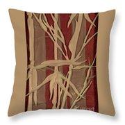 Sunset Bamboo Throw Pillow