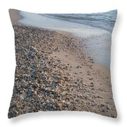 Sunset Beach Cape May Nj Throw Pillow