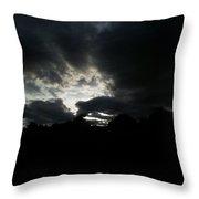 Sunset Beauty At Tsavo East National Park Throw Pillow
