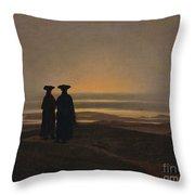 Sunset Brothers Throw Pillow