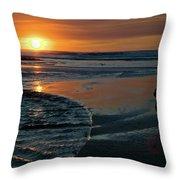 Sunset Capture Throw Pillow