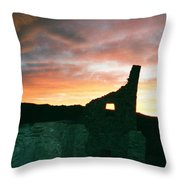 Sunset Chaco Canyon Throw Pillow