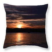 Sunset Throw Pillow by Cim Paddock