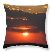 sunset CLO 108 Throw Pillow