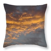 Sunset Clouds Throw Pillow