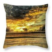 Sunset Clouds Throw Pillow