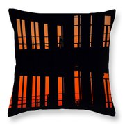 Sunset Color In The Spaces 2  Throw Pillow