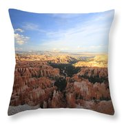 Sunset Colours Bryce Canyon 2 Throw Pillow