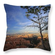 Sunset Colours Bryce Canyon 3 Throw Pillow