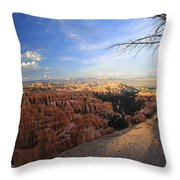 Sunset Colours Bryce Canyon 4 Throw Pillow