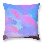 Sunset Cove  Throw Pillow