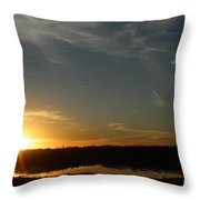 Sunset Dawn Throw Pillow