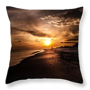 Sunset Delight  Throw Pillow by Kim Loftis