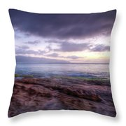 Sunset Dream Throw Pillow by Break The Silhouette