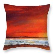 Sunset Dreamin Throw Pillow
