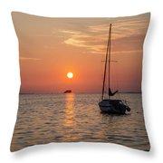Sunset Dreams - Florida Throw Pillow