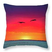 Sunset Dreams Throw Pillow