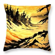 Sunset Extreme Throw Pillow