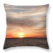 Sunset Gate 17 2 Throw Pillow