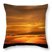 Sunset Gate 17 Throw Pillow