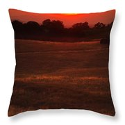 Sunset Gate Throw Pillow