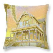 Sunset Gingerbread Throw Pillow