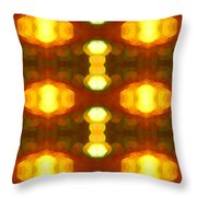 Sunset Glow 1 Throw Pillow
