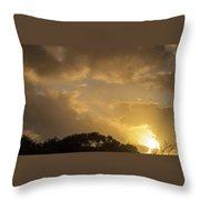 Sunset Glow 2 Throw Pillow