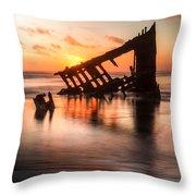 Sunset Glow 0016 Throw Pillow