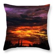 Sunset H16 Throw Pillow