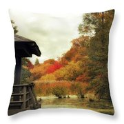 Sunset Horizon Throw Pillow
