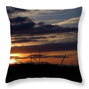 Sunset I I Throw Pillow