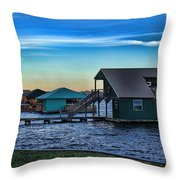 Sunset In Coffee Throw Pillow