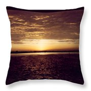 Sunset In Fl Throw Pillow