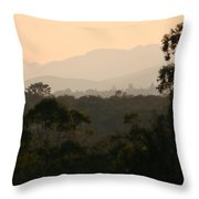 Sunset In Limpopo Throw Pillow