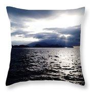 Sunset In Madeira Throw Pillow