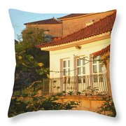Sunset In Portugal  Throw Pillow