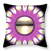 Sunset In Summertime Throw Pillow